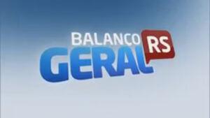 Balanço Geral RS - RecordTV 2018