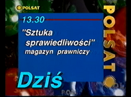 Polsat 1995-1996 TV schedule ident