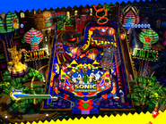 Sonic Generations Logo on Pinball Table