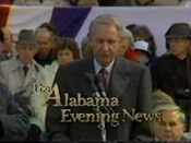 WBRC-TV's Channel 6 The Alabama Evening News video open from May 29, 1992