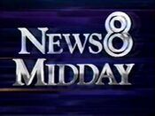 WFAA News 8 Midday 1989