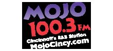 100.3 WMOJ Old Logo