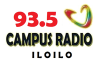 Campus Radio 93.5 Iloilo Logo 2002