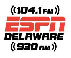 ESPN Delaware 104.1 FM 930 AM WYUS