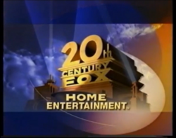 20TH CENTURY FOX HOME ENTERTAINMENT LOGO 2000