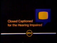 ABC Closed Captioning 1980