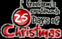 Countdown to 25 Days of Christmas logo