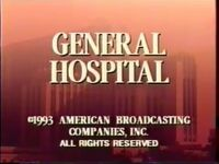 General Hospital Video Close From February 10, 1994 - 3