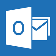 Outlook white logo