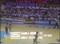 PBA on Vintage Sports scorebug 1986