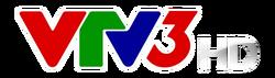 VTV3 HD logo