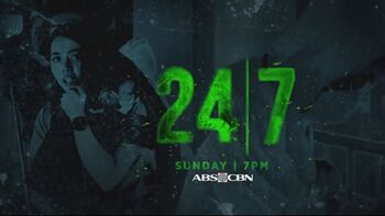 24-7 (Philippine TV series) title card
