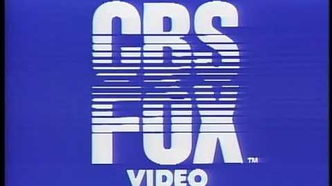 CBS FOX Video openings