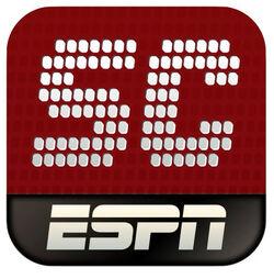ESPN ScoreCenter 2012 app icon