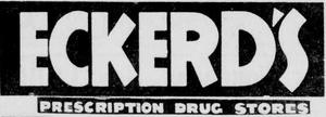 Eckerd - 1947 -July 5, 1956-
