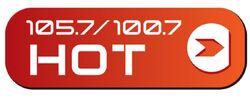 Hot 105.7 100.7 KVVF-KVVZ