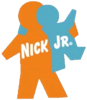 Nick Jr Original Hugging logo