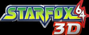 Star Fox 64 3D logo