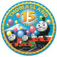 ThomasLand(Japan)15thAnniversaryLogo