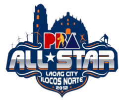 2012 PBA All-Star Game logo