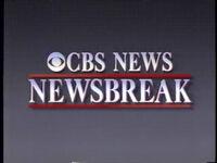 CBS Newsbreak 1990