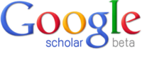 Google Scholar beta logo