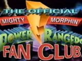 Mighty Morphin Power Rangers Fan Club