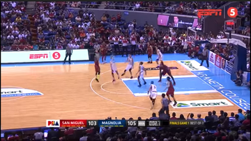 PBA on ESPN5 screenshot 2018