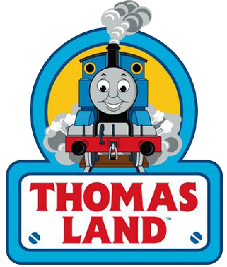 It is an image of Gutsy Thomas the Train Logo