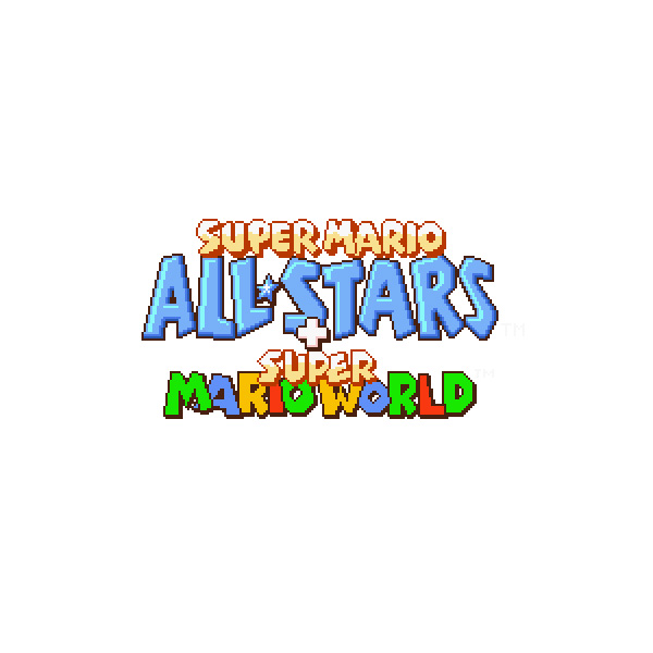 Super Mario All-Stars + Super Mario World | Logopedia