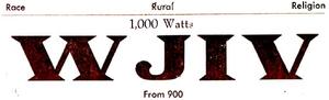 WJIV - 1950 -March 6, 1951-