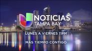 Wvea noticias univision tampa bay 11pm mas tiempo contigo promo 2019