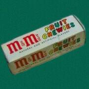 Mmsfruit chewies
