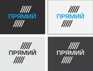 Pryamyj flat logos