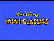 Walt Disney Mini Classics 1993 UK VHS Logo