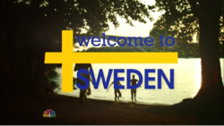 Welcome to Sweden Main Title
