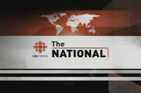CBC-TV's CBC News' The National Video Open From Monday Night, January 9, 2006