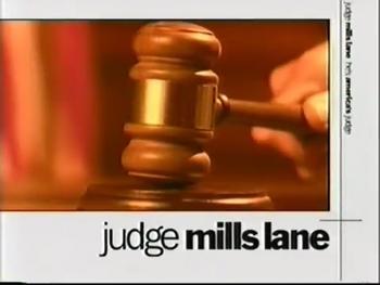 Judge Mills Lane title card