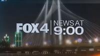 KDFW Fox 4 News 9PM open - 2018