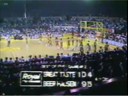 PBA on Vintage Sports scorebug 1984 2AFC