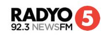 Radyo Singko 92.3 News FM Secondary Logo (2018)