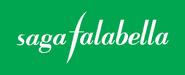 Saga Falabella logo 1999 con fondo