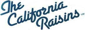 The California Raisins Logo