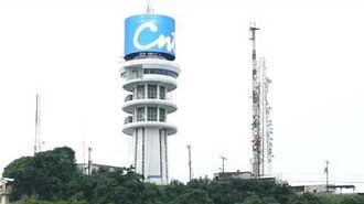 CNT Led Cilindrica Torre Logo
