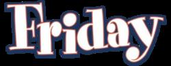 Friday film logo