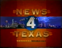 KDFW News 4 Texas 9PM open - 1995