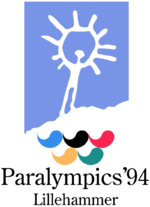 Lillehammer1994 Paralympic games Logo