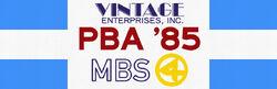PBA on MBS 4 1985 Vintage Sports