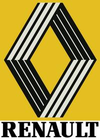 Renault logo 1981