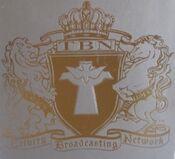 TBN Crest in silver color for TBN's 25th anniversary